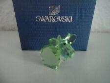 Swarovski figura lovlots mini mo en verde claro, personaje de vidrio