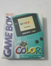 Nintendo Game Boy Color Handheld Console - Teal Brand New UNUSED OPEN BOX