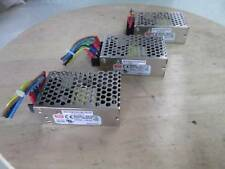 Lot of 3 Mean Well MW RS-25-12 100-240VAC 0.7A 50/60Hz Switch Power Supply
