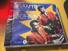 Santo & Johnny self titled s/t cd SEALED