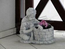 Blumenkübel Pflanz Kübel Dekoration Figur Blumentöpfe Garten Vasen S101073