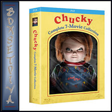 CHUCKY - COMPLETE 7 MOVIE COLLECTION   *BRAND NEW BLU-RAY BOXSET**