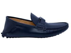 New Authentic Louis Vuitton Epi Hockenheim Moccasin size 9 US / 8 LV #133K