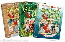 GILLIGANS ISLAND COMPLETE SERIES SEASON 1 2 3 + PILOT COLLECTION NEW 17 DVD R4