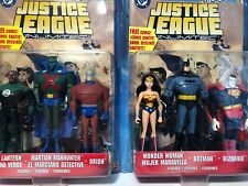 Justice League Unlimited 3 Pack X2 Batman Wonder Woman Orion Green Lantern Moc