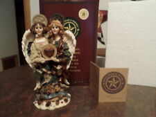 """Boyds Folkstone Collection """"Constance & Felicity Best Friend Angels"""" L.E #10879"""