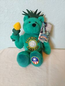 Limited Treasures Collectibles Lady Liberty, The Freedom Coin Bear with NY Coin