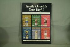 Genealogy book Family Chronicle Year Eight september 2003 august 2004