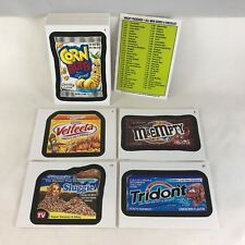 WACKY PACKAGES ALL NEW SERIES 9 Complete 55 STICKER CARD SET (Topps 2012)