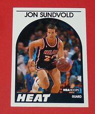 # 175 JON SUNDVOLD MIAMI HEAT 1989 NBA HOOPS BASKETBALL CARD