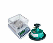 precision electronic balance scale 1000g 0.01g+100 Sqcm Round Sample Cutter b