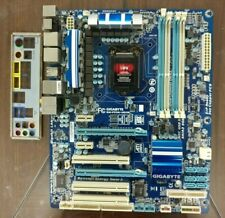 GigaByte GA-P55A-UD3R Rev2 P55 LGA1156 2x PCIE x16 USB3.0 + IO-Shield, Tested