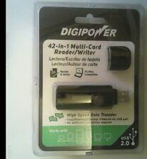 Digipower 42-in-1 Multi-card Reader/Writer High Speed Data Transfer USB 2.0 NEW
