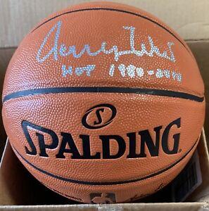 "Jerry West Autographed Basketball W/ ""HOF 1980-2010"" - JSA - Los Angeles Lakers"