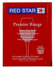 Red Star Premier Rouge formerly Pasteur Red Dried Wine Yeast 5 Packets)free ship
