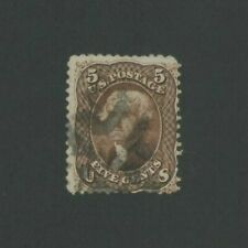 1863 United States Postage Stamp #76 Used Average Fancy Postal Cancel