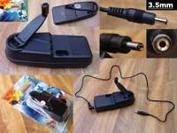 3.5mm plug Nokia 3410 3510i 3610 3650 3660 Emergency Charger Hand Winding Dynamo