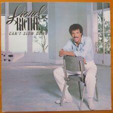 "Lionel Richie ""CAN'T SLOW DOWN"" 1983 LP Vinyl Record Motown 6059 ML Gatefold"