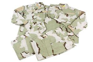 2 SETS Special Forces Medium Reg DCU Camo RAID Combat Pants/Shirt Set BDU