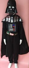 Star Wars Darth Vader deluxe Costume Dress Up & Mask age 11/12 years