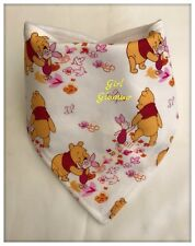 Disney Winnie The Pooh Drible Baberos de Tela Bandana alimentos para bebés Babero