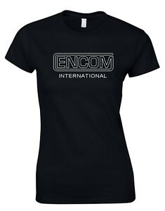Encom Flynns arcade Tron Movie inspired Retro Womens T-Shirt