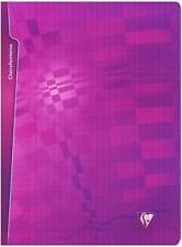 Clairefontaine Metric 203361 C Notizheft 24 x 32 cm 96 Seiten großkariert lila