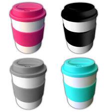 4er Set Coffee to Go Becher 350ml Kaffeebecher Kaffee Tee Trinkbecher Teebecher