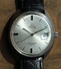 Omega Seamaster Cosmic Wrist Watch Automatic Stainless Steel 35mm Vintage