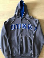 Vintage Duke University Blue Devils Sewn-On Hoodie Pullover Sweatshirt Mens M