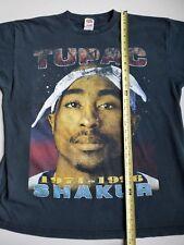Vintage 90s XL Tupac Against All Odds T-shirt 2pac Makaveli RARE hip hop rap