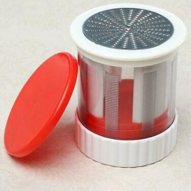 Stainless Steel Cheese Grater Butter Cutter Hand Rotary Mill Slicer Gadget Tool