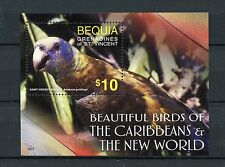 Bequia Grenadines St Vincent 2016 MNH Beautiful Birds of Caribbean 1v S/S Stamps