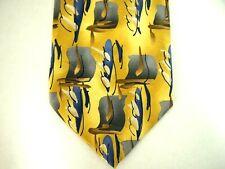 """J. Garcia Mens Necktie Tie Warthog Glasses Limited Edition Abstract Art Silk 59"""""""