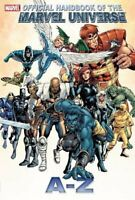 Official Handbook Marvel Universe A To Z Volume 1 GN Avengers OOP TPB New NM