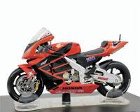 Leo 1:18 MotoGP #46 V.Rossi Honda RC 211V Summer test Suzuka 2001 Red Racing