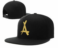 2015COOL ! NEW Fashion Unisex snapback caps alumni with gold A sport style Black