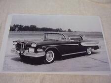 1958 FORD EDSEL CITATION 2DR HARDTOP   11 X 17  PHOTO /  PICTURE