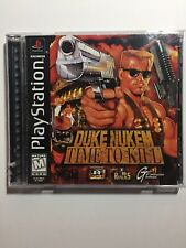 DUKE NUKEM TIME TO KILL PS1 1998 COMPLETE BLACK LABEL WORKS TESTED