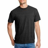 Hanes Men's X-Temp with Fresh IQ Short Sleeve T-Shirt, Black, Medium