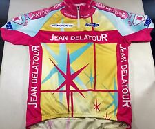 Biemme Sport Jean Delatour Bicycle Cycling Jersey, Mens Large / XL