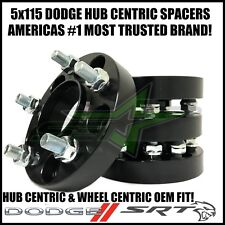 5x115 Dodge Wheel Spacers Hub Centric Charger Challenger Hellcat SRT 1.25 Inch