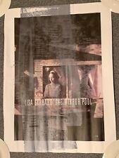 Lisa Gerrard The Mirror Pool 1995 Promo Poster Tour CD LP Dead Can Dance vtg