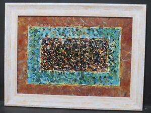 James Carlisle b1937 Abstract Expressionist Mark Tobey Jackson Pollock Modernism