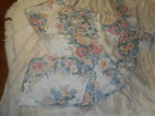 Sears The Walt Disney Vtg. 2 Sets Twin Size Sheets Floral Cotton Blend