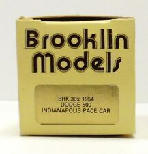 BROOKLIN 1954 DODGE, 500 INDIANAPOLIS PACE CAR  BRK. 30 X   ( EMPTY BOX ONLY )
