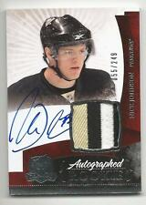 10-11 Nick Johnson The Cup Auto Rookie Card RC #135 Sweet Jersey Patch 055/249