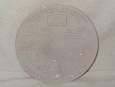 Frankoma Pottery Bi-Centennial Celebration Plate- Battles For Independence- 1974