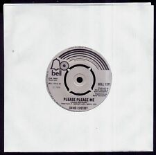 """DAVID CASSIDY - Please Please Me (Beatles Cover) - UK SG 7"""" Bell 1974 - 45 rpm"""