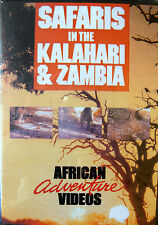 Safaris in the Kalahari and Zambia Big Game Hunt DVD African Adventure Videos